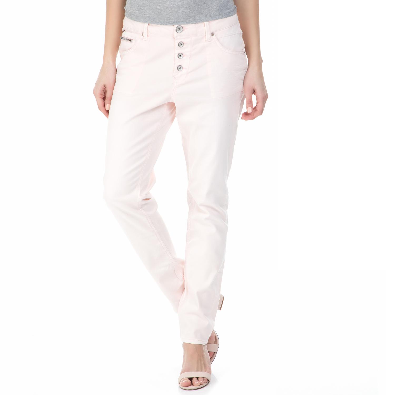 e9be1aebc03 GARCIA JEANS - Γυναικείο τζιν παντελόνι GARCIA JEANS ροζ