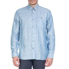 TED BAKER-Ανδρικό μακρυμάνικο πουκάμισοTed Baker γαλάζιο