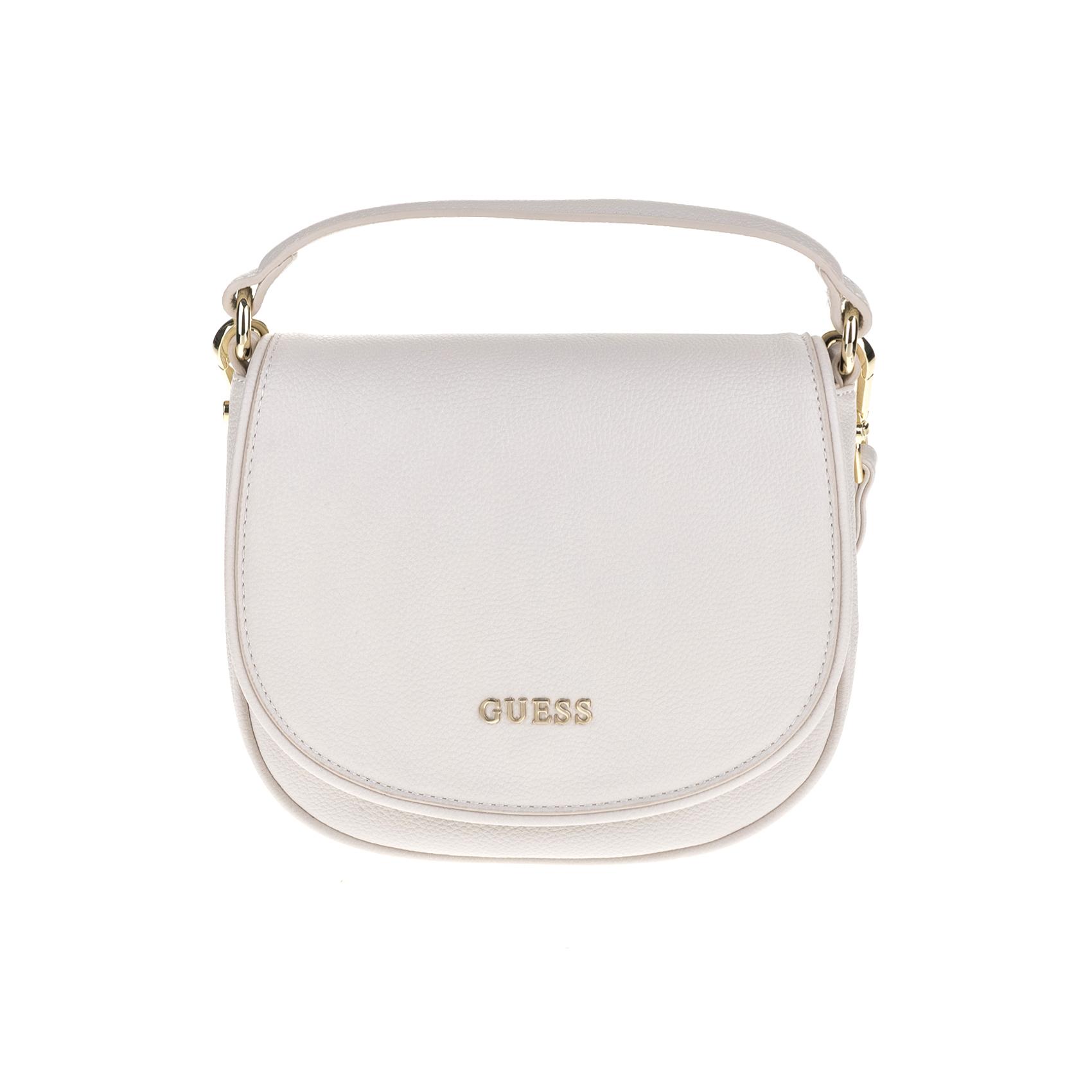GUESS – Γυναικεία τσάντα SUN DRAWSTRING λευκή 1525808.0-0091