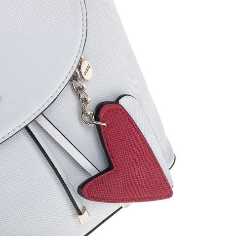 GUESS-Σακίδιο πλάτης GUESS PIN UP POP λευκό