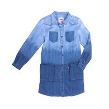 LEVI'S KIDS-Παιδικό φόρεμα LEVI΄S μπλε