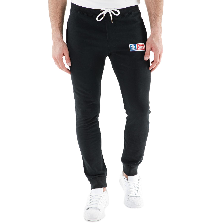 FRANKLIN & MARSHALL – Ανδρικό παντελόνι φόρμας FRANKLIN & MARSHALL μαύρο