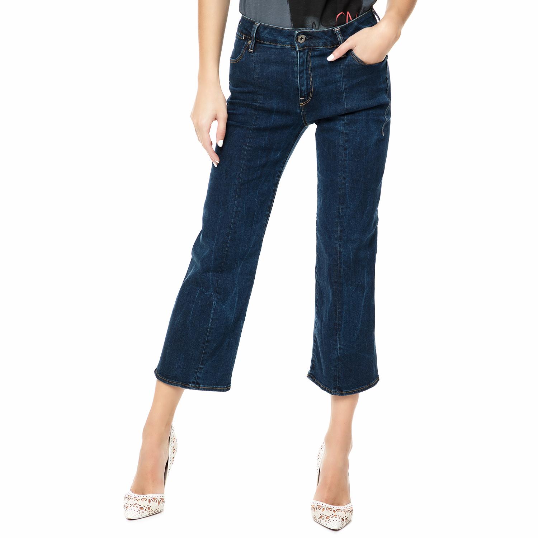 528d6c47f337 G-STAR RAW – Γυναικείο τζιν παντελόνι G-STAR RAW Lanc 3D Kick Cropped