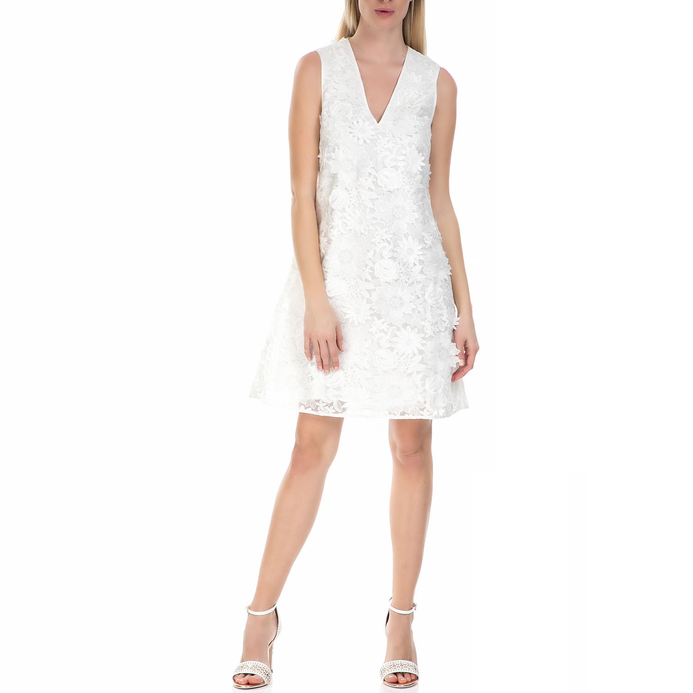 TED BAKER - Midi φόρεμα με λουλούδια Ted Baker λευκό