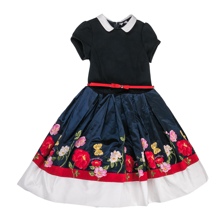 MONNALISA – Φόρεμα MONNALISA μπλε-κόκκινο