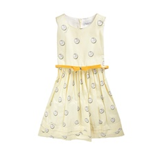 MONNALISA-Φόρεμα MONNALISA ST.PERLE κίτρινο