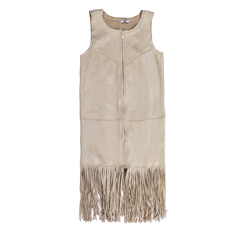 MONNALISA – Φόρεμα MONNALISA με κρόσια