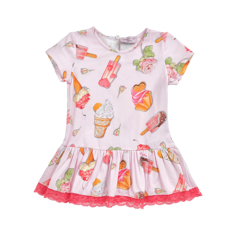 MONNALISA – Φόρεμα MONNALISA ICECREAM με μοτίβο