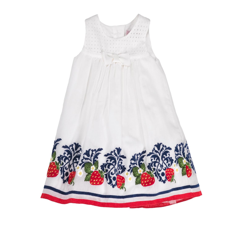 MONNALISA – Φόρεμα MONNALISA λευκό