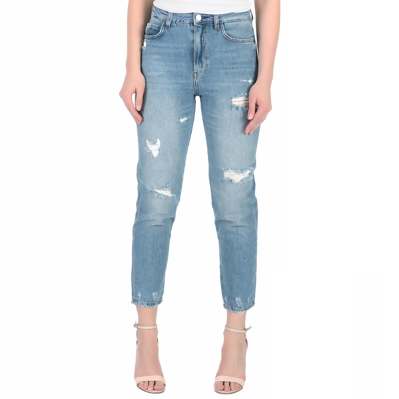 62179faf7596 GUESS - Γυναικείο ψηλόμεσο τζιν παντελόνι Guess MODEL μπλε