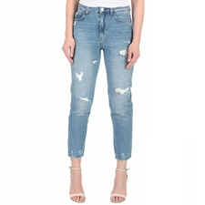 GUESS-Γυναικείο ψηλόμεσο τζιν παντελόνι Guess MODEL μπλε