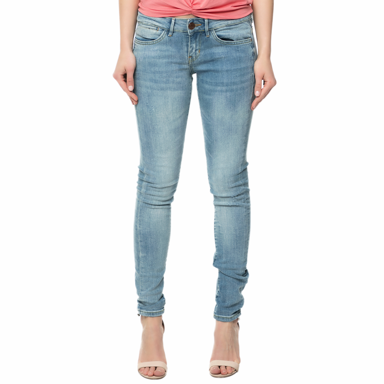 GUESS - Γυναικείο τζιν παντελόνι Guess JEGGING - COMPACT BLUE SUPERST μπλε γυναικεία ρούχα τζίν skinny