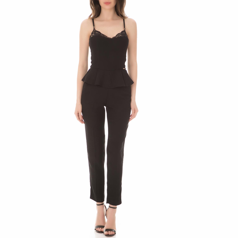 379a49e399 GUESS - Γυναικεία ολόσωμη φόρμα GUESS MARGIT μαύρη