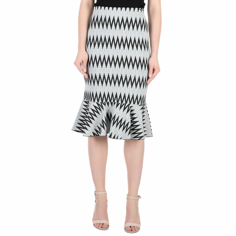 GUESS - Μίντι φούστα GUESS HALIMA με μοτίβο 2d0ebfc17bf