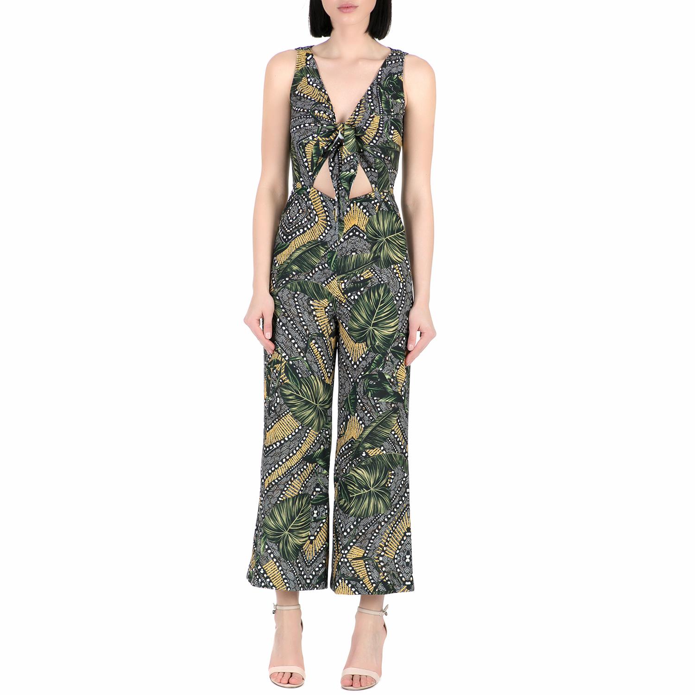 GUESS - Ολόσωμη φόρμα GUESS CESIA με print γυναικεία ρούχα ολόσωμες φόρμες