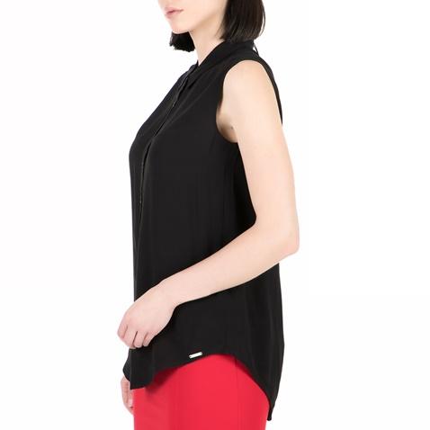 3eca42ebe2 Γυναικείο αμάνικο πουκάμισο GUESS μαύρο (1528267.0-0071)