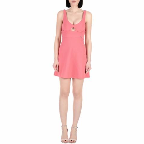 Γυναικείο mini φόρεμα Guess ANNA ροζ (1528313.0-00p6)  578c5ef76d7