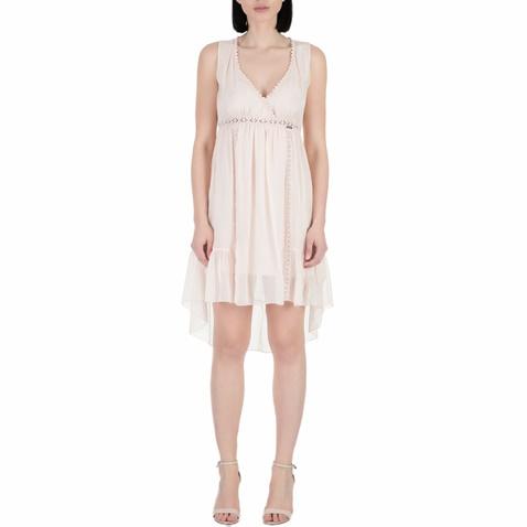 3e8ea228faf6 Γυναικείο μίνι φόρεμα Guess ELECTRA ροζ (1528332.0-00y1)