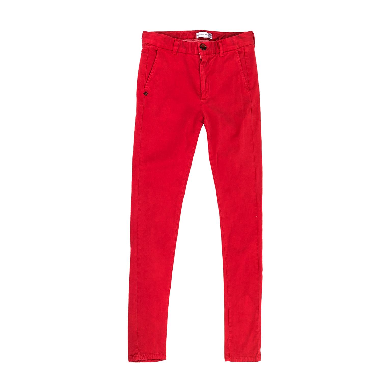 f29230fe4c3 Factoryoutlet MONNALISA - Αγορίστικο chino παντελόνι MONNALISA κόκκινο