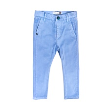 MONNALISA-Αγορίστικο chino παντελόνι MONNALISA γαλάζιο