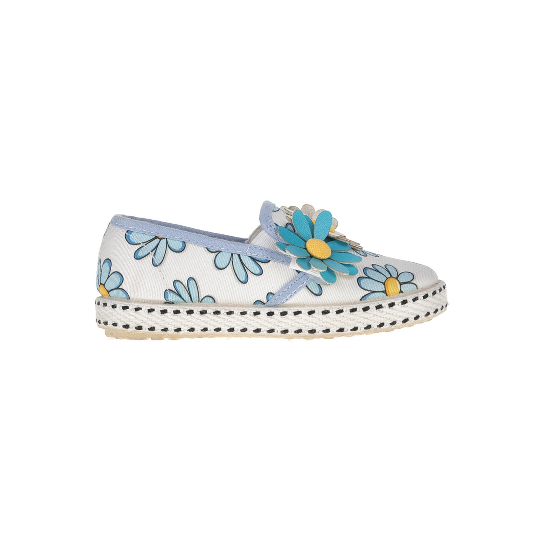 MONNALISA SHOES - Slip-on παπούτσια MONNALISA SHOES MARGHERITE φλοράλ παιδικά girls παπούτσια εσπαντρίγιες slip on
