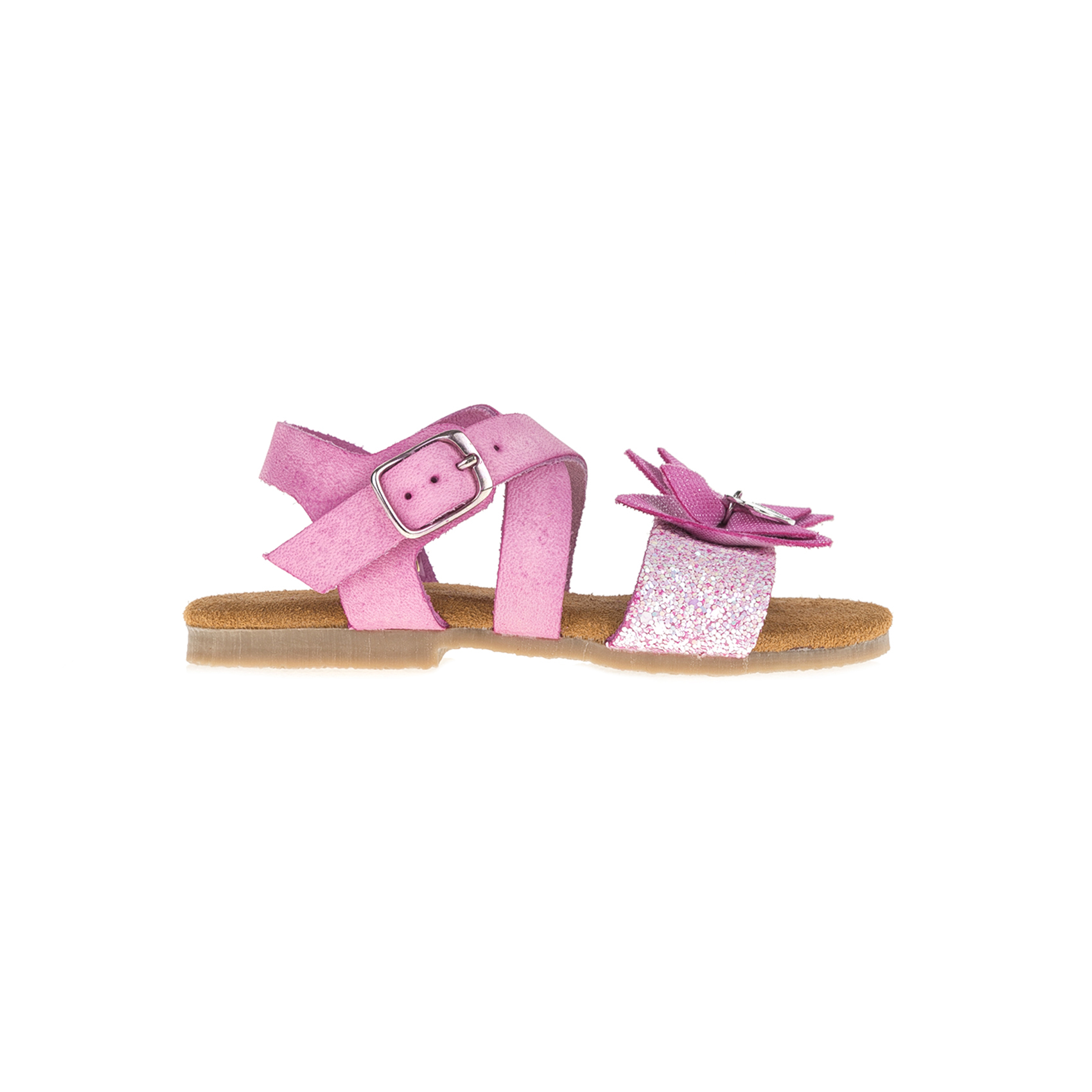 MONNALISA SHOES - Πέδιλα MONNALISA SHOES PAPILLON φούξια παιδικά girls παπούτσια πέδιλα σανδάλια