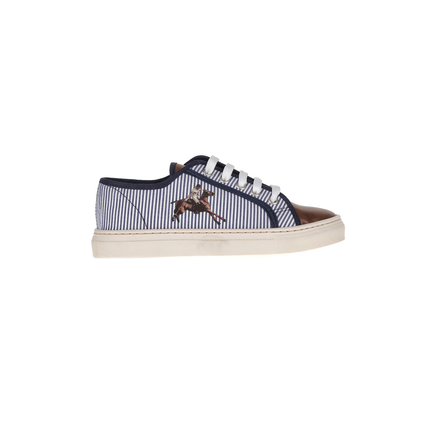 MONNALISA SHOES - Sneakers MONNALISA SHOES POLO H+3 παιδικά boys παπούτσια sneakers