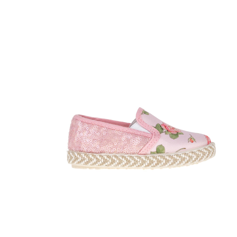 MONNALISA SHOES – Slip-on παπούτσια MONNALISA SHOES ROSELL E PAJETTE ροζ