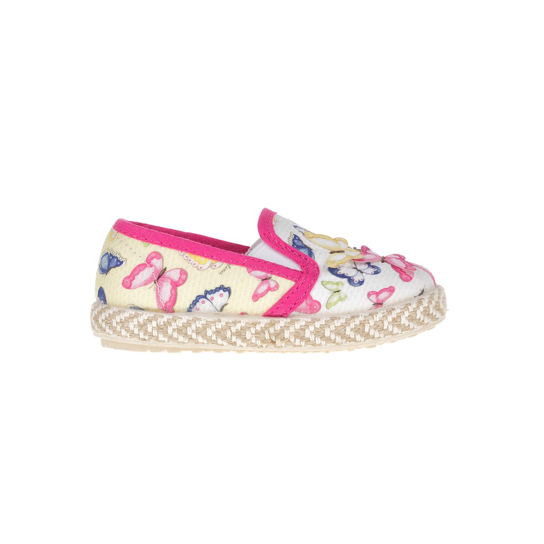 MONNALISA SHOES - Slip-on παπούτσια MONNALISA SHOES FARFALLINE με πεταλούδες παιδικά girls παπούτσια εσπαντρίγιες slip on
