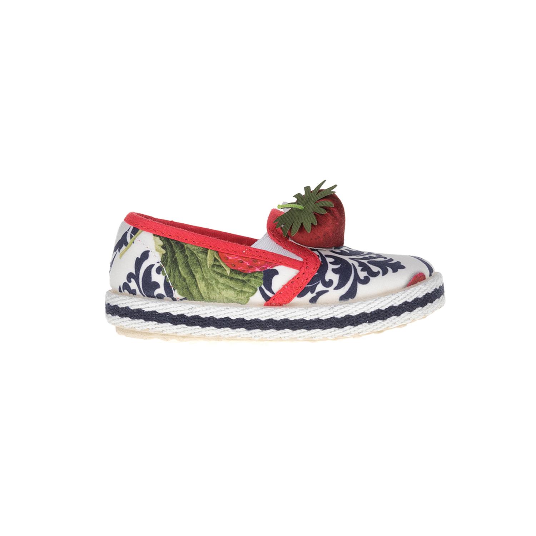 MONNALISA SHOES - Slip-on παπούτσια MONNALISA SHOES FRAGOLE LIBERTY παιδικά girls παπούτσια εσπαντρίγιες slip on