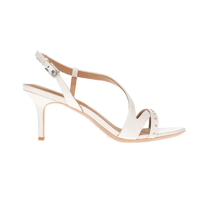 Γυναικεία παπούτσια CALVIN KLEIN JEANS άσπρα (1529092.0-0093 ... 40a4253b720