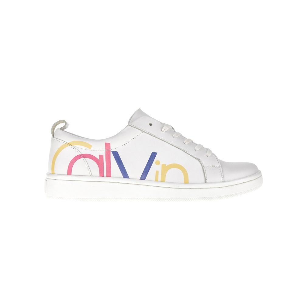 -40% Factory Outlet CALVIN KLEIN JEANS – Γυναικεία sneakers CALVIN KLEIN  JEANS λευκά f6b89ce7ba4