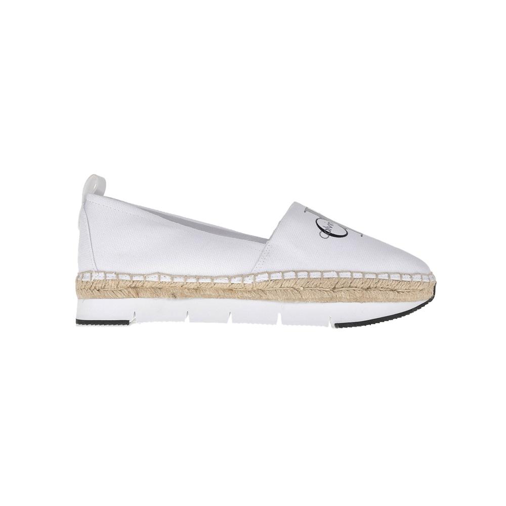 CALVIN KLEIN JEANS – Γυναικείες εσπαντρίγιες Calvin Klein Jeans λευκές