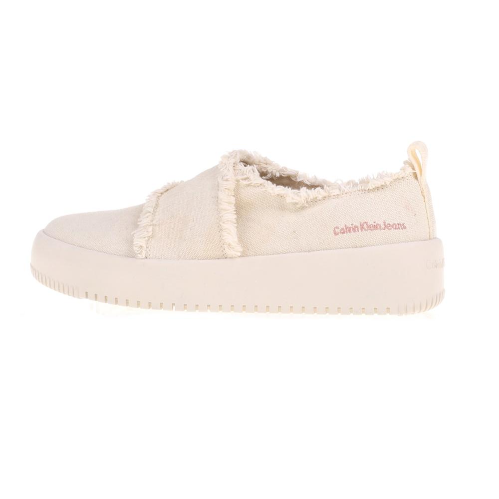 CALVIN KLEIN JEANS – Γυναικεία παπούτσια DALE CALVIN KLEIN JEANS μπεζ