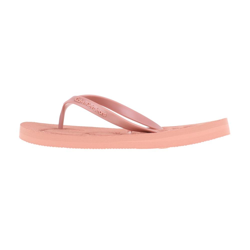 CALVIN KLEIN JEANS – Γυναικείες σαγιονάρες PICCOLA CALVIN KLEIN JEANS ροζ
