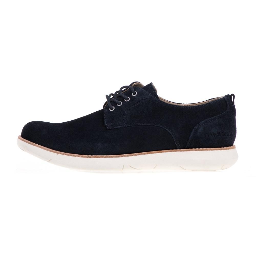 CALVIN KLEIN JEANS - Ανδρικά δερμάτινα παπούτσια TAB CALVIN KLEIN JEANS μπλε ανδρικά παπούτσια δετά casual