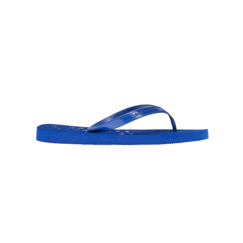 CALVIN KLEIN JEANS – Αντρικές σαγιονάρες CALVIN KLEIN JEANS μπλε