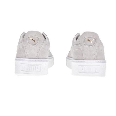 4ee4b8448d7 Γυναικεία sneakers Puma SUEDE PLATFORM μπεζ - χρυσά (1529329.0-w191 ...