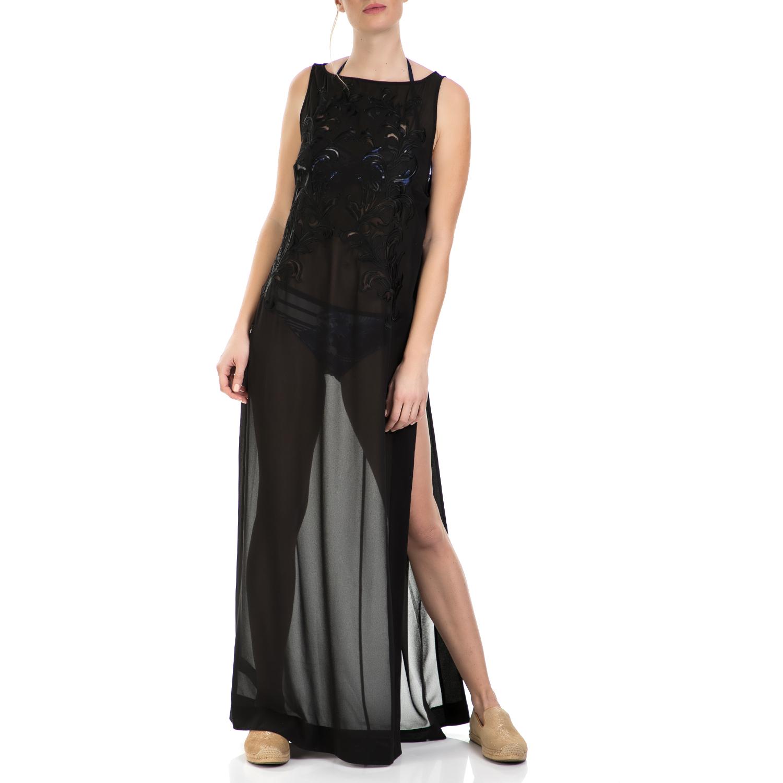TED BAKER - Beachwear TED BAKER LACIA μαύρο γυναικεία ρούχα φορέματα μάξι