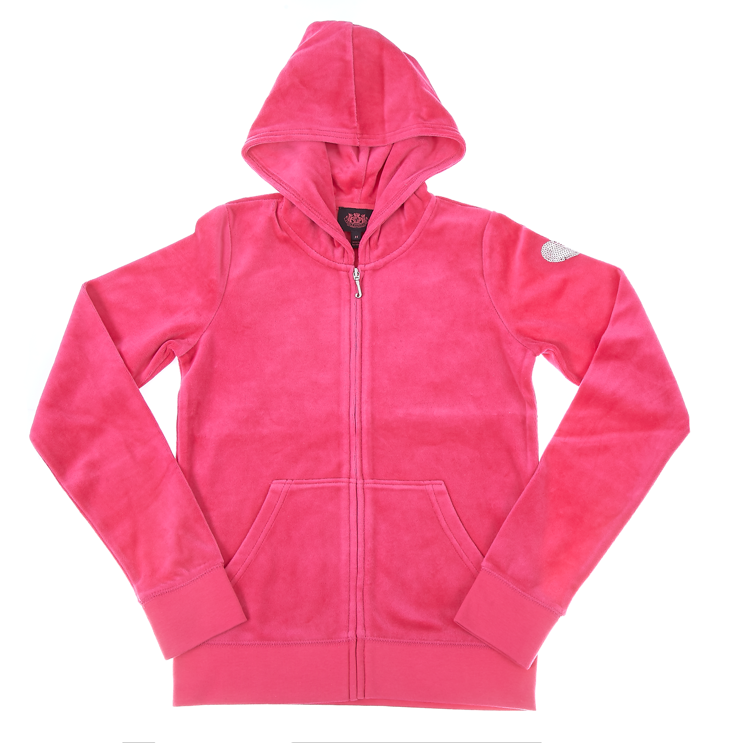 JUICY COUTURE KIDS – Παιδική ζακέτα Juicy Couture φούξια – Online Ρούχα fcfa9bb9aa6