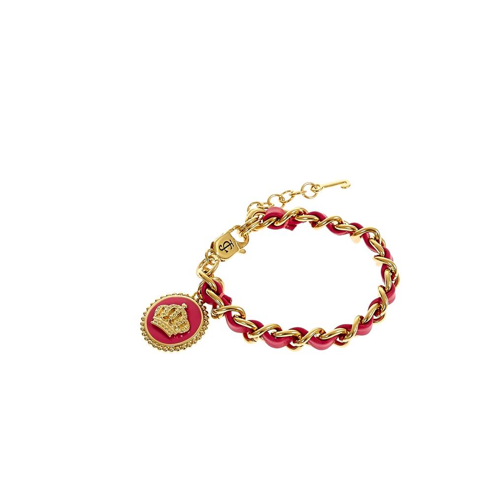 JUICY COUTURE - Γυναικείο βραχιόλι Juicy Couture κόκκινο γυναικεία αξεσουάρ κοσμήματα βραχιόλια