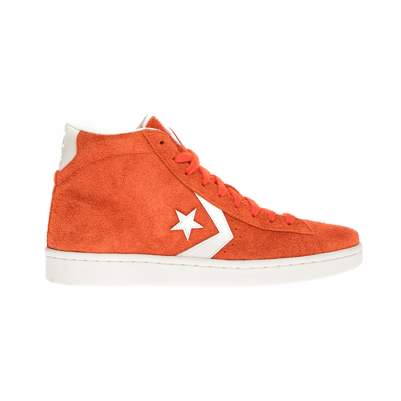 CONVERSE – Αντρικά μποτάκια QS PL '76 VINTAGE ATHLETIC κόκκινα-πορτοκαλί