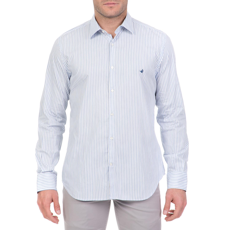 ac4a58736f39 BROOKSFIELD - Ανδρικό μακρυμάνικο πουκάμισο BROOKSFIELD γαλάζιο