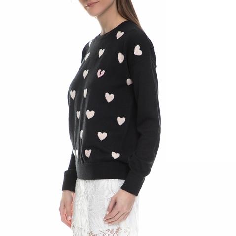 231153d1d924 Γυναικείο πουλόβερ με καρδιές Juicy Couture μαύρο (1532591.0-0071 ...