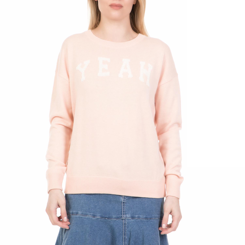 JUICY COUTURE - Γυναικείο πουλόβερ YEAH JUICY COUTURE ροζ