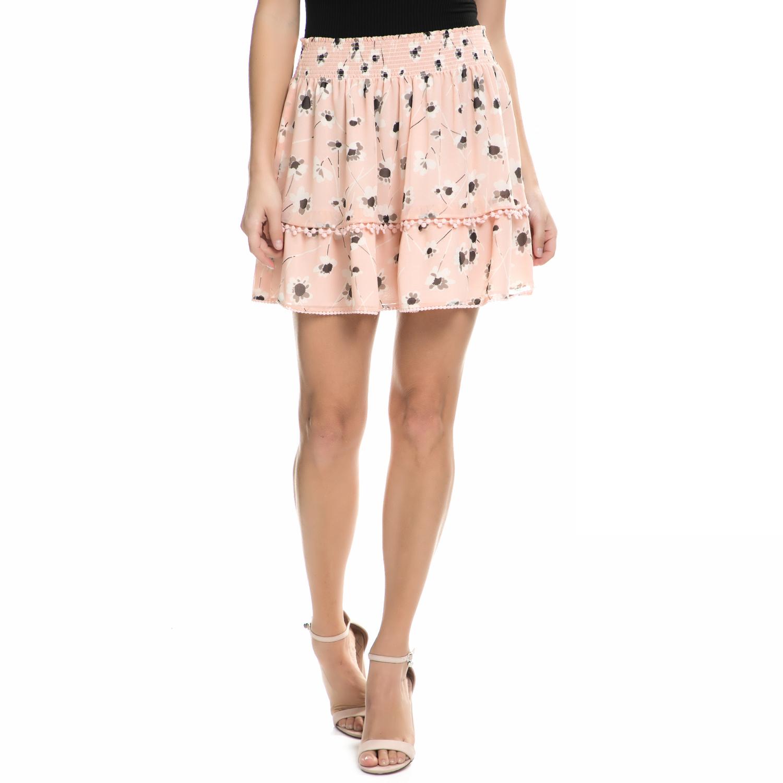 JUICY COUTURE - Γυναικεία μίνι φούστα Juicy Couture ρολ φλοράλ
