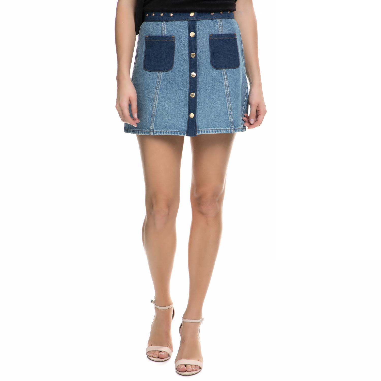JUICY COUTURE - Γυναικεία μίνι τζιν φούστα Juicy Couture μπλε