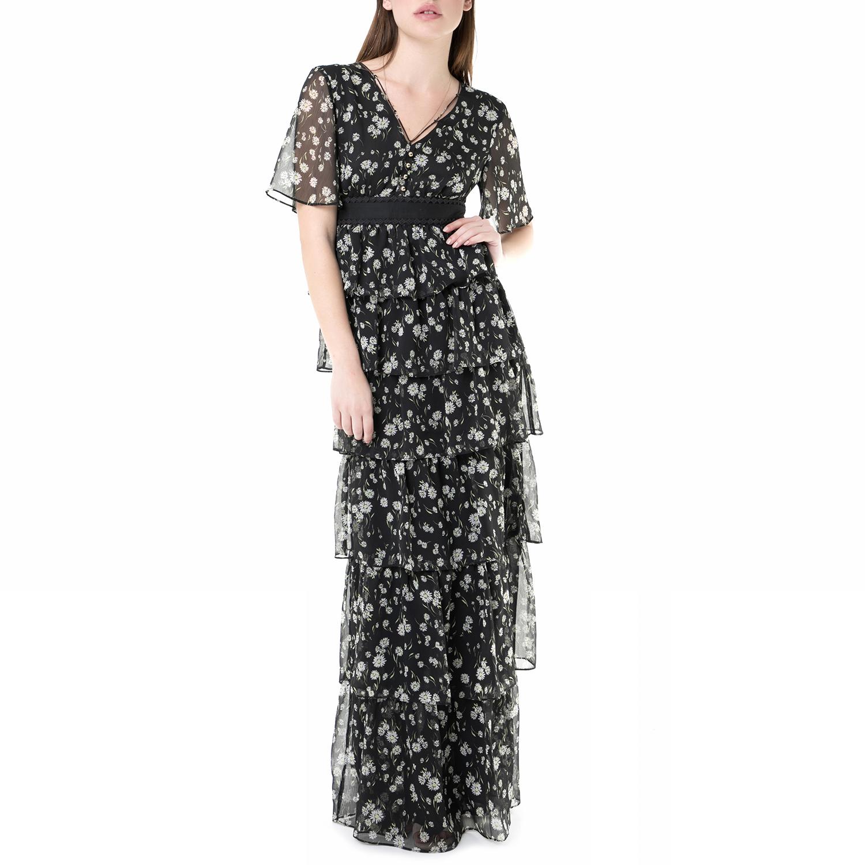 JUICY COUTURE - Μάξι φόρεμα με επίπεδα fullerton daisy Juicy Couture γυναικεία ρούχα φορέματα μάξι