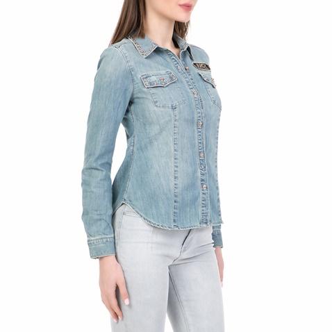 a740b86a0cb0 Γυναικείο τζιν πουκάμισο CHAMBRAY JUICY COUTURE μπλε (1532651.0-0012 ...