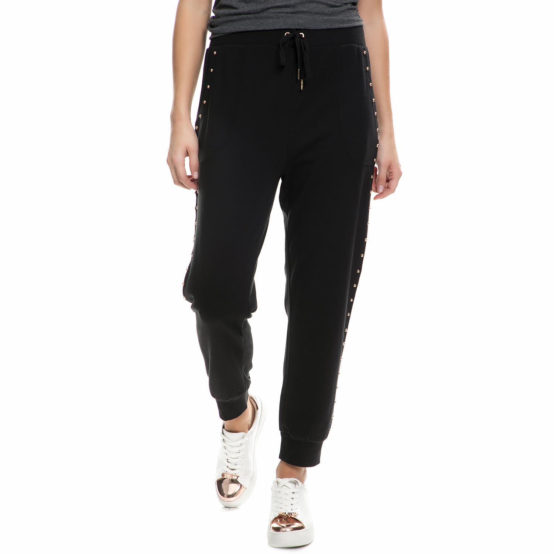 JUICY COUTURE - Παντελόνι φόρμας JUICY COUTURE μαύρο γυναικεία ρούχα παντελόνια φόρμες